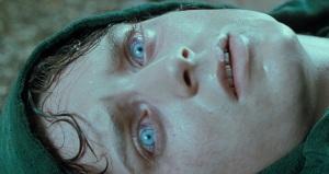 Frodo looking at Arwen