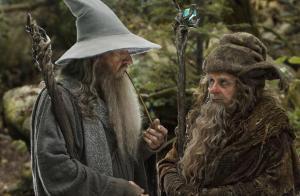 Radagast and Gandalf