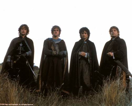 The Four Hobbits