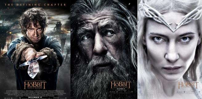 The Hobbit BOTFA Character Posters (set 1)