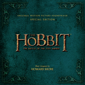 The Battle of the Five Armies Soundtrack Cover